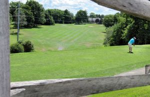 A view of Western Hill Golf Course on Park Road in Waterbury. Steven Valenti Republican-American