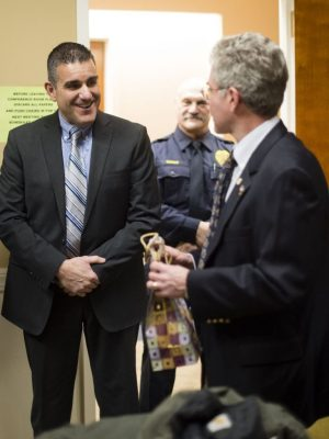 New police chief in town Middlebury swears in Dabbo