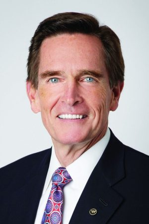 James C. Smith, of Middlebury, chairman and chief executive officer of Waterbury-based Webster Bank. Contributed