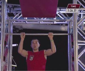 Joe Moravsky of Sherman, shown on last year's 'American Ninja Warrior' series on G4, was invited back this year. Credit: contributed