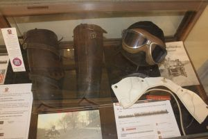 Memorabilia from William B. Johnson's riding days on display at the Town Hall in Somers, N.Y. (Bud Wilkinson / Republican-American)