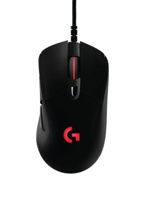 The Logitech Prodigy G403 fits comfortably in the hand (if youíre a righty). The sides have a nice rubberized grip that feels luxurious. In terms of performance, the mouse is fast and responsive with virtually no lag despite it being wireless. (Logitech/TNS)