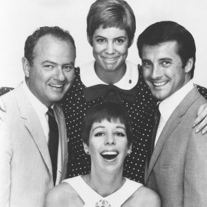 Clockwise from top, the cast of 'The Carol Burnett Show included Vicki Lawrence, Lyle Waggoner, Carol Burnett and Harvey Korman. Credit: The Brokaw Co.