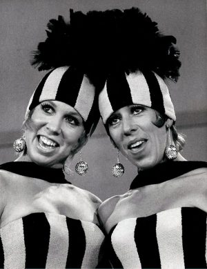 Vicki Lawrence and Carol Burnett.Credit: The Brokaw Co.