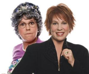 Vicki Lawrence and her character Mama. Credit: The Brokaw Co.