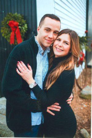 Engagement, Christina Brandon and Louie Pelosi.