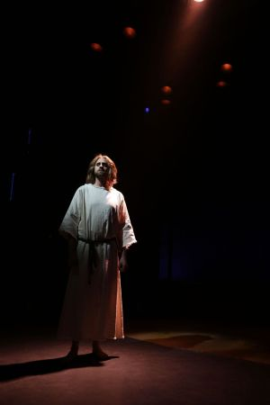 Waterbury, CT- 21 March 2017-032117CM15- Aaron LaVigne, will portray Jesus Christ during Jesus Christ Superstar at Seven Angels Theatre in Waterbury. Christopher Massa Republican-American