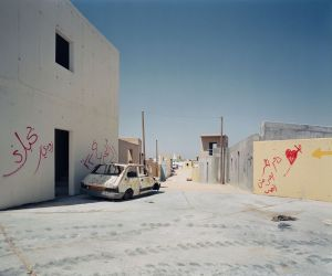 [01] Adam Broomberg and Oliver Chanarin, Tze'elim Military Base, Negev Desert (Chicago #2), from the series Chicago, 2006. Digital chromogenic print. © Broomberg & Chanarin, courtesy the artists.