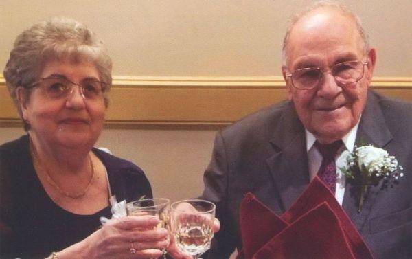 Mr. and Mrs. Salvatore Rinaldi of Waterbury. Contributed
