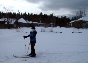 West Branch Pond Camps will be the second night on a five-day, four night cross-country ski adventure in Maine. (Tim Jones/EasternSlopes.com photo)