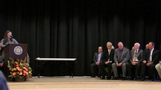 Mayor Robert Chatfield sworn in for 21st term