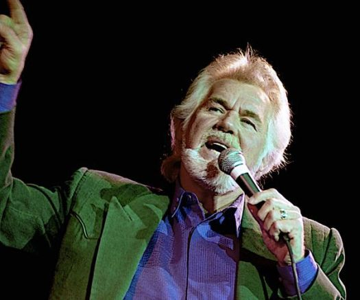 Kenny Rogers performs during the 50th anniversary show from the studios of Voice of America on June 19, 2015, in Washington, D.C. (Mark Reinstein/Zuma Press/TNS)