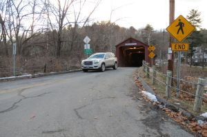 The iconic West Cornwall Covered Bridge will be closed for rehabilitation for 29 days beginning on Sept. 4, 2018. The project will cause a detour of Route 128. Ruth Epstein Republican-American