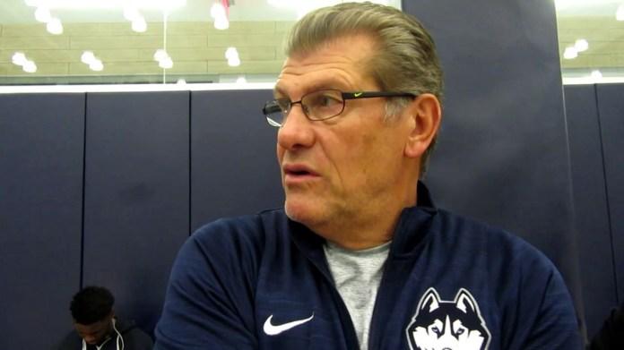 UConn coach Geno Auriemma on challenge of facing Notre Dame