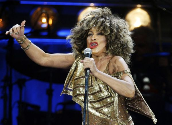 Singer Tina Turner, one of the 'Beehive' girls. Associated Press