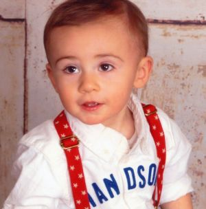 Greysen Gregory, 2, of Morris. Contributed