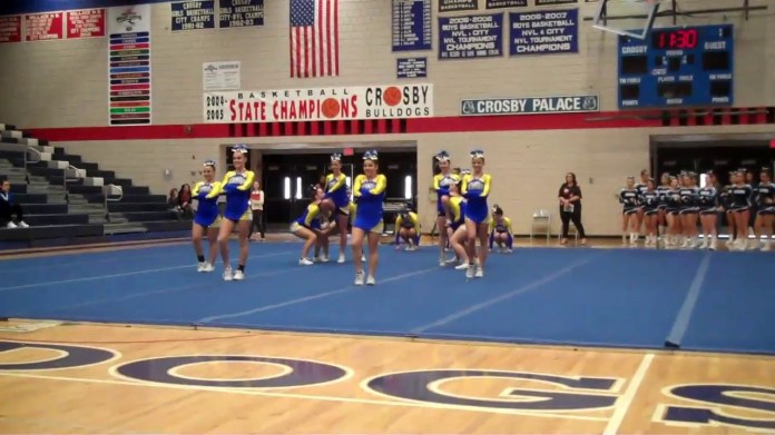 NVL cheerleading championships: Seymour