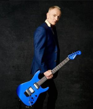 G3 2018, with Joe Satriani, John Petrucci and Phil Collen, pictured here, will be at the Toyota Oakdale Theatre in Wallingford at 7 p.m. Thursday.  Contributed