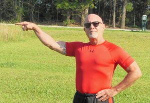 Former Naugatuck resident Mickey Mantle Fortin, now living in South Carolina, is fundraising to walk the Way of St. James to benefit Holy Land and the Greater Waterbury Campership Fund. Contributed