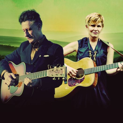 Lyle Lovett and Shawn Colvin will be at the Warner Theatre in Torrington on Friday. Contributed