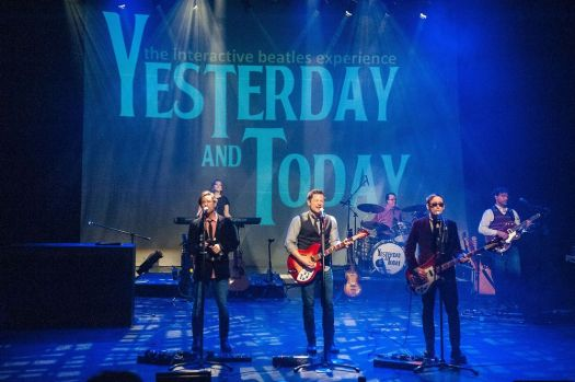 """Yesterday and Today: The Interactive Beatles Experience"" comes to Seven Angels Theatre in Waterbury on Saturday. Contributed"