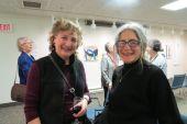Rose Tannenbaum of Great Barrington, Mass., and Diane Schapira of Salisbury.