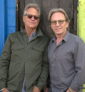 Contributed Gerry Beckley, left, and Dewey Bunnell appear this weekend as America performs Friday at the Warner Theatre in Torrington.