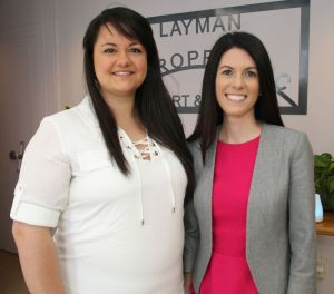 Kim Layman, left, and Katie Layman, both of Warren, have launched careers in chiropractic and naturopathic medicine, respectively. John McKenna Republican-American