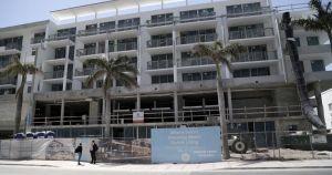 In Miami on April 12, 2018, 6080 Collins Avenue, where the smallest apartments will be 350 square feet. (Jose A. Iglesias/El Nuevo Herald/TNS)