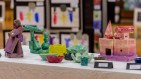 WOODBURY, CT. 07 June 2018-060718BS572 - Region 14 students display their art at an art show at Nonnewaug High School on Thursday afternoon. Bill Shettle Republican-American