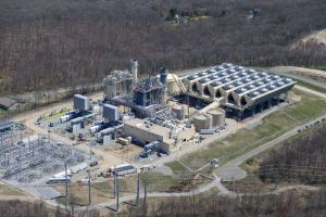 An aerial view of the Towantic Energy Center power plant, which opened today according to parent company Competitive Power Ventures. Contributed.