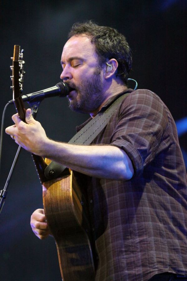 Dave Matthews Band performs as part of Final Four Big Dance Concerts at Centennial Olympic Park on Sunday, April 7, 2013, in Atlanta. (Photo by Robb D. Cohen/RobbsPhotos/Invision/AP)