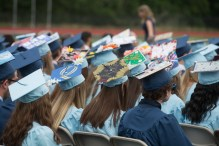 The Oxford High School Class of 2018 graduated on Wednesday, June 20 in Oxford, Conn. Christopher Burns Republican/American