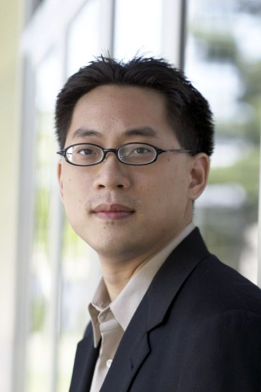 Melvin Chen portrait, photographed at The Richard B. Fisher Center For The Performing Arts at Bard College.