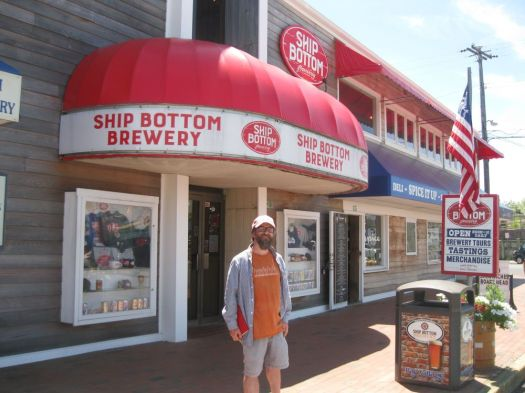 Beer Snob Will Siss stands outside of Ship Bottom Brewery in Beach Haven, N.J., on Long Beach Island. Will Siss Republican-American Will Siss Republican-American