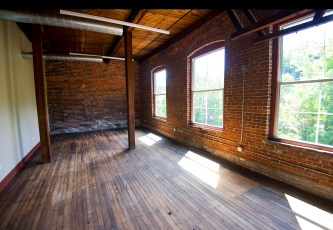 A new inside one of the vacant lots at the Mad River Lofts in Winsted. Jim Shannon Republican American