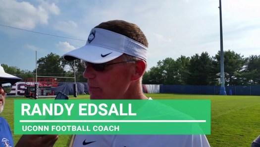 UConn football: Edsall updates state of team as opener nears