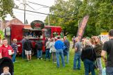 SOUTHBURY, CT. 22 September 2018-092218 - People form a long line to get some lobster rolls and seafood from Szabo's Seafood Food Truck during the Southbury Celebration on the Southbury Training School Grounds in Southbury on Saturday. Bill Shettle Republican-American