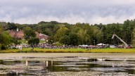 SOUTHBURY, CT. 22 September 2018-092218 - A view over the pond of the Southbury Celebration on the Southbury Training School Grounds in Southbury on Saturday. Bill Shettle Republican-American