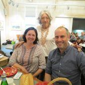 From left, Emma Plumb, Ann Lozman and Steve Pener