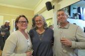 Laurel Caliendo of Falls Village, Eileen Gargan of Cornwall and Mark Caliendo of Falls Village.