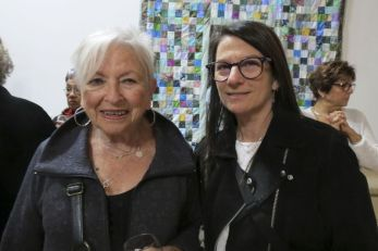 Beverly Feuer of Nyack, NY, and Valerie Feuer of Falls Village.