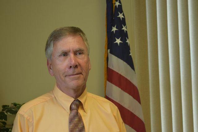 Plymouth Mayor David V. Merchant. Jacqueline Stoughton/Republican-American
