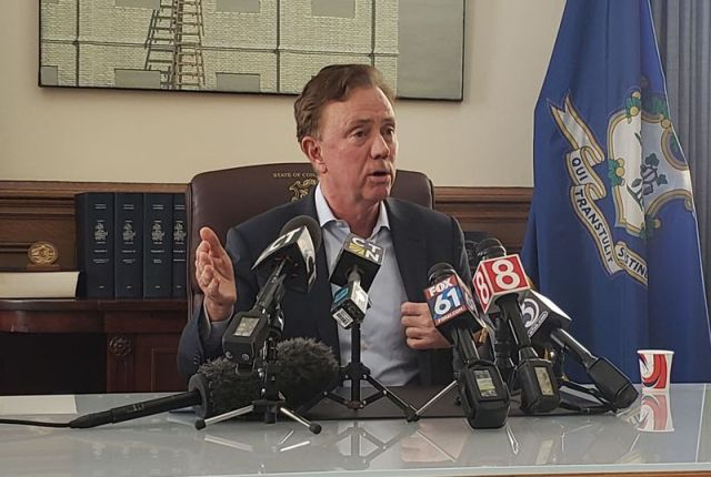 Gov. Ned Lamont on Wednesday announced he is moving on from a Democratic plan for highway tolls for trucks after Democratic majority leaders again postponed planned House and Senate votes on the funding proposal. Paul Hughes Republican-American