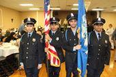 From left, Waterbury Police Explorers Sgt. Melanie Adames, Sgt. Alex Rodriquez, Chanel Gonzalez and Juan Garcia.