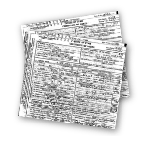 Death Certificates for 1959-1960 Indexed by Name