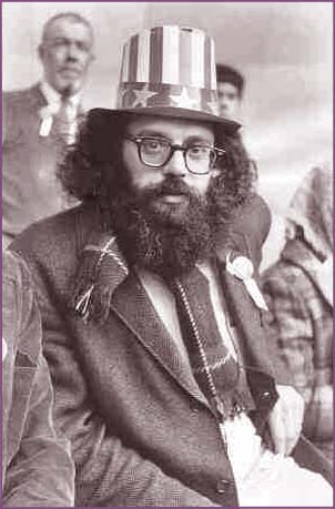 Allen Ginsberg as Uncle Sam