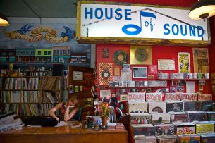 Mississippi Records on N. Mississippi in Portland, Oregon. Photo by Jamie Francis