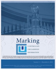 CUI Marking Handbook Cover Image