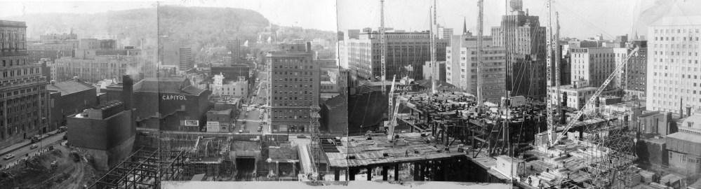 La construction de la Place Ville-Marie en 1960 (2/2)